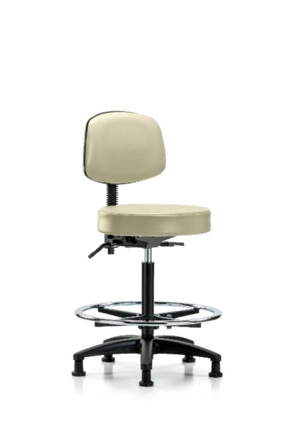 Christa High Bench Height Adjustable Lab Stool by Symple Stuff