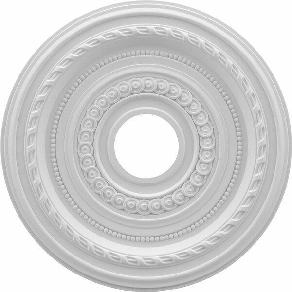 Cole 1H x 16W x 16D Ceiling Medallion by Ekena Millwork