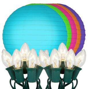 Price comparison 10-Light Lantern String Lights By LumaBase