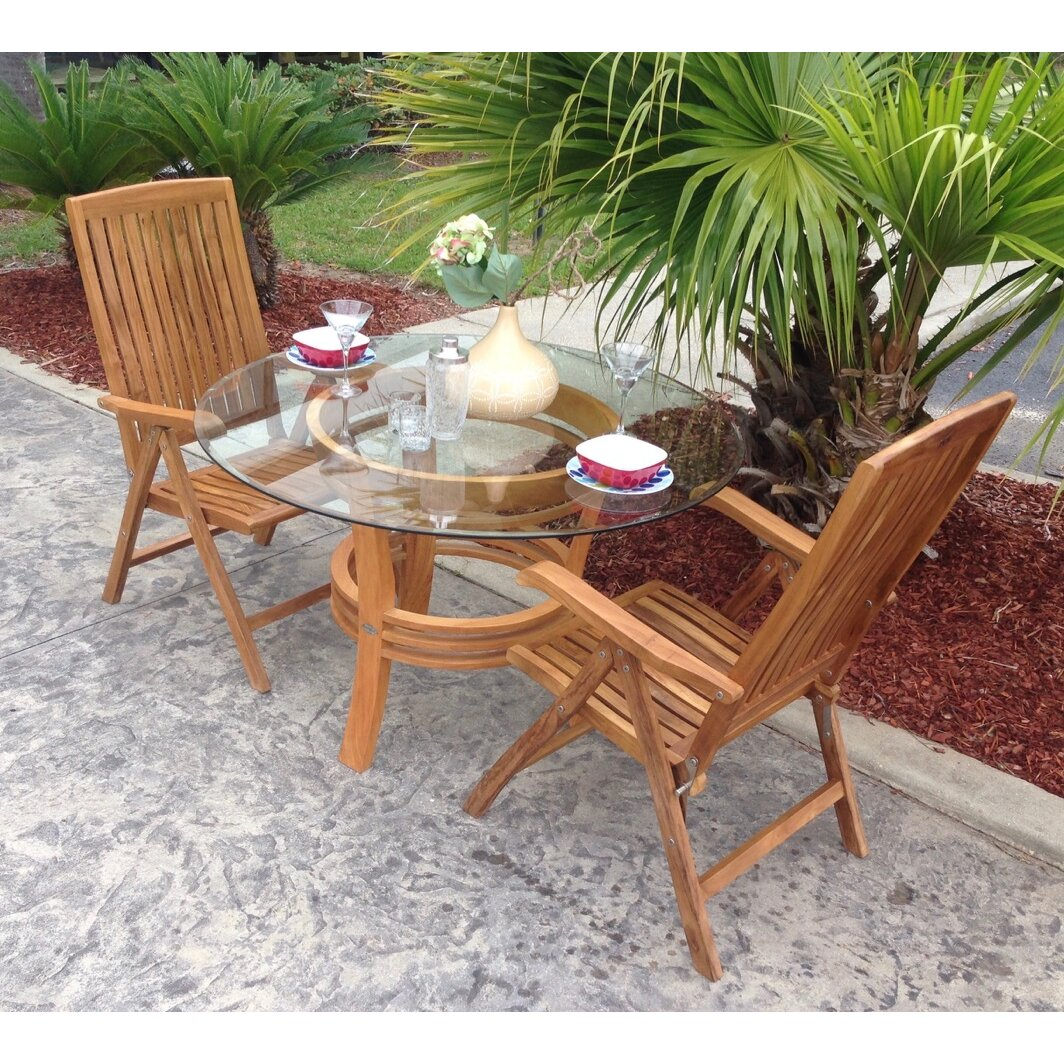 Teak dining room chairs - Miami Teak Dining Arm Chair