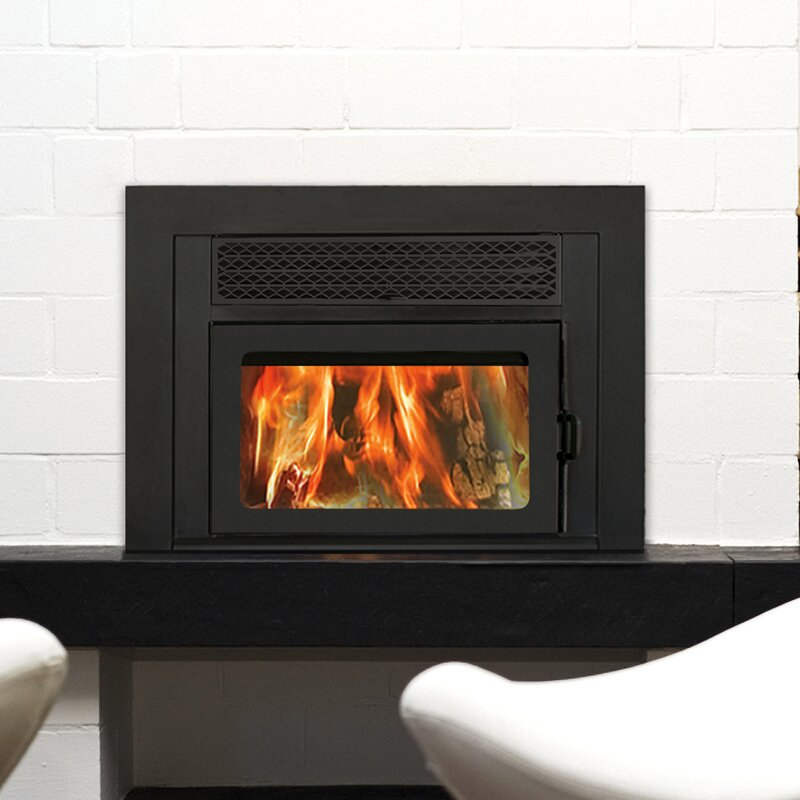 Fireplace Design fireplace wood : Supreme Fireplaces Inc. Volcano Plus Wall Mount Wood Burning ...