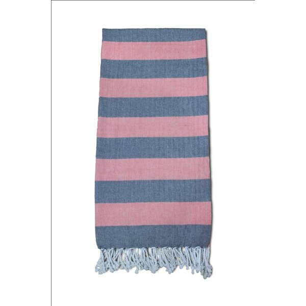 Striped Turkish Bath Towel by Charlton Home