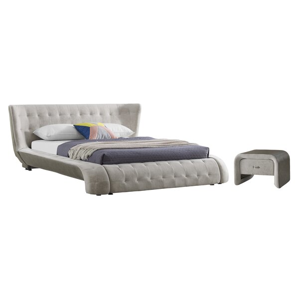 Latrell Platform Configurable Bedroom Set by Everly Quinn