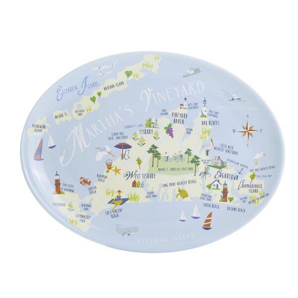 Aya Melamine Platter by Winston Porter