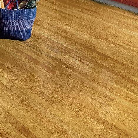 Dundee 2 14 Solid White Oak Hardwood Flooring in Seashell