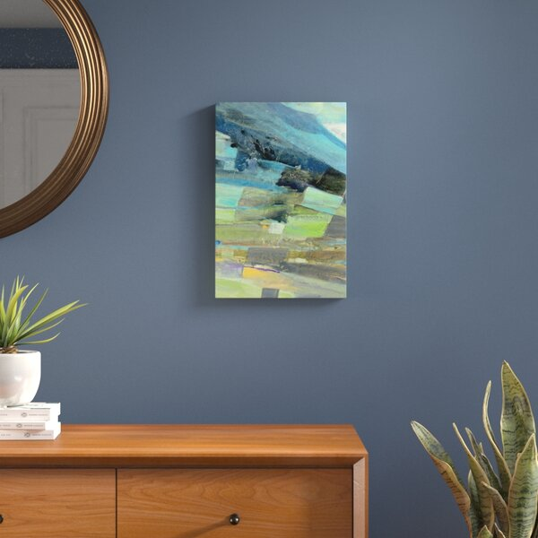 View From the Coast I Painting Print on Wrapped Canvas by Langley Street