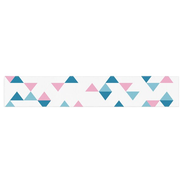 Project M Triangles Table Runner by East Urban Home