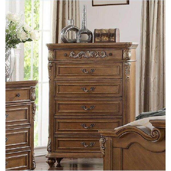 Wang Royal 6 Drawers Standard Dresser by Astoria Grand