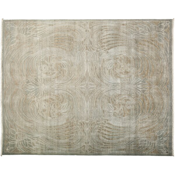 One-of-a-Kind Shalimar Hand-Knotted Gray Area Rug by Darya Rugs