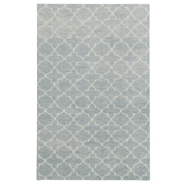 Tommy Bahama Maddox Blue / Beige Geometric Rug by Tommy Bahama Home