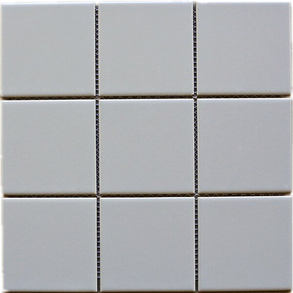 4 x 4 Porcelain Tile in Gray by Multile