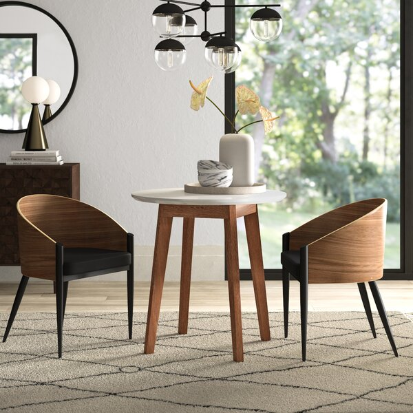 Cooper Round Dining Table by Mercury Row