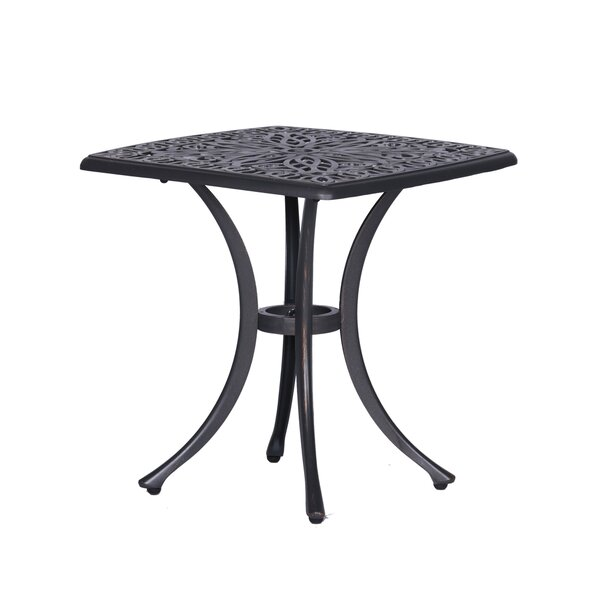 Bean Metal Side Table By Fleur De Lis Living