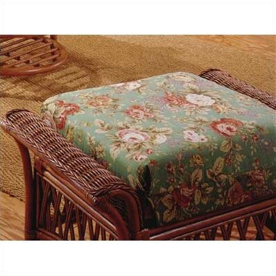 3700 Old World Ottoman by South Sea Rattan