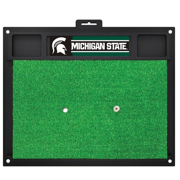 NCAA Michigan State University Golf Hitting Mat by FANMATS