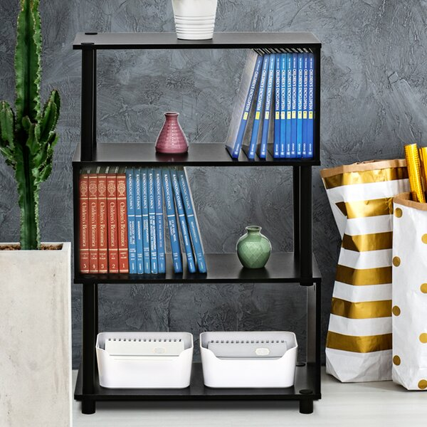 Desirae Etagere Bookcase by Ebern Designs