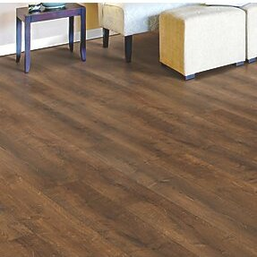 Cabrini 8 x 47 x 7.14mm Oak Laminate Flooring in Brown by Mohawk Flooring