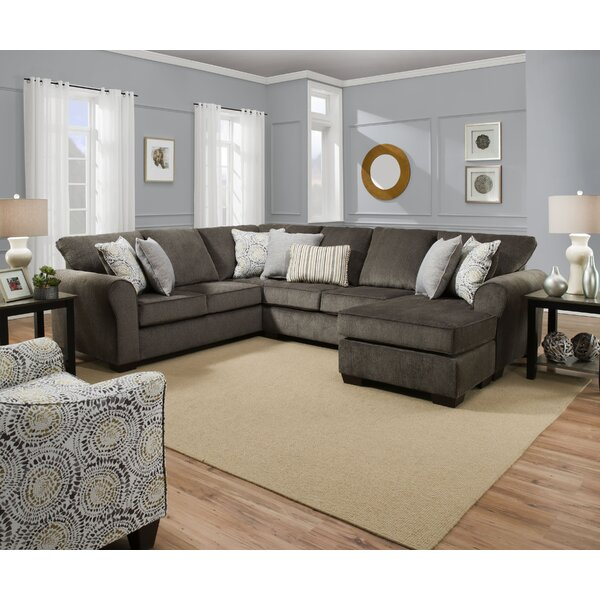 Hepner Sectional by Alcott Hill