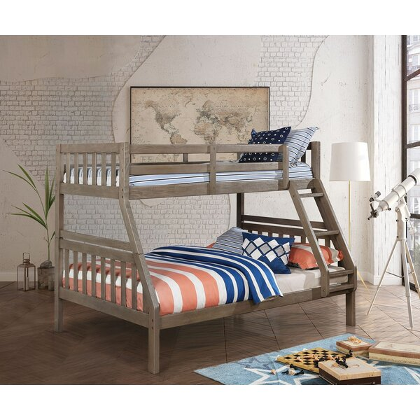 Rametta Twin Over Full Bunk Bed by Harriet Bee