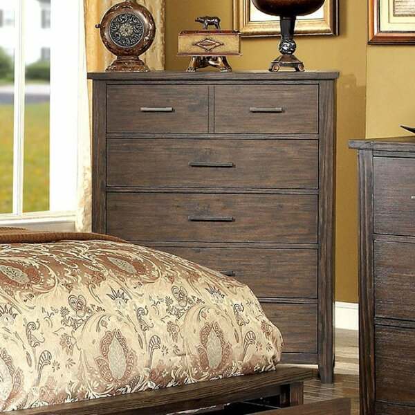 Bluford Wooden 6 Drawer Chest by Foundry Select