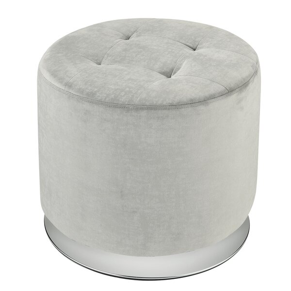 Giffin Tufted Ottoman by Everly Quinn Everly Quinn