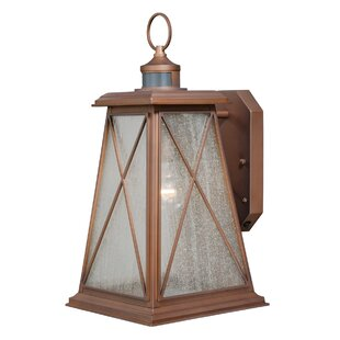 Best Price Flemings 1-Light Outdoor Wall Lantern By August Grove