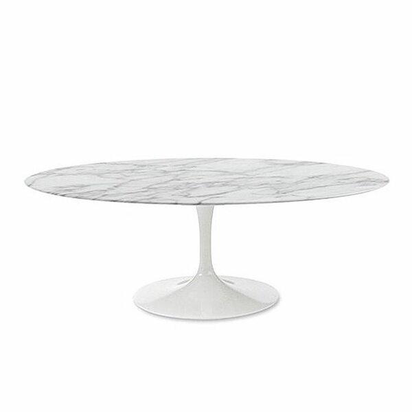 Villalba Pedestal Coffee Table By Orren Ellis