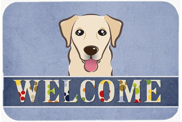 Retriever Welcome Kitchen/Bath Mat