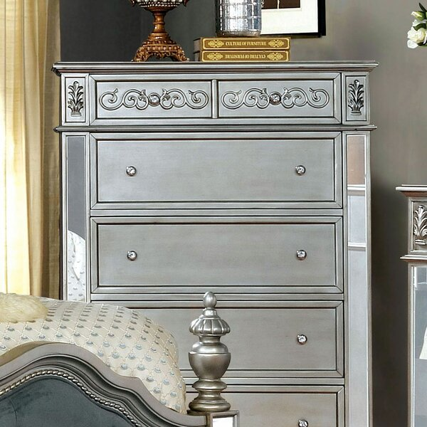 Gwendolyn 6 Drawer Chest by Rosdorf Park