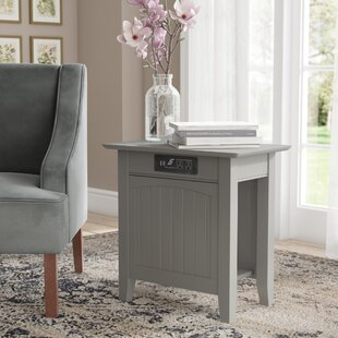 Reviews Glenni End Table ByHighland Dunes