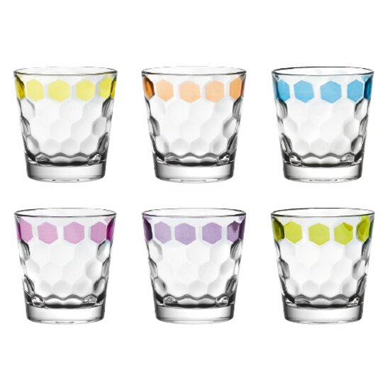 Antibes 9.8 oz. Glass Cocktail Glasses (Set of 6) by EGO