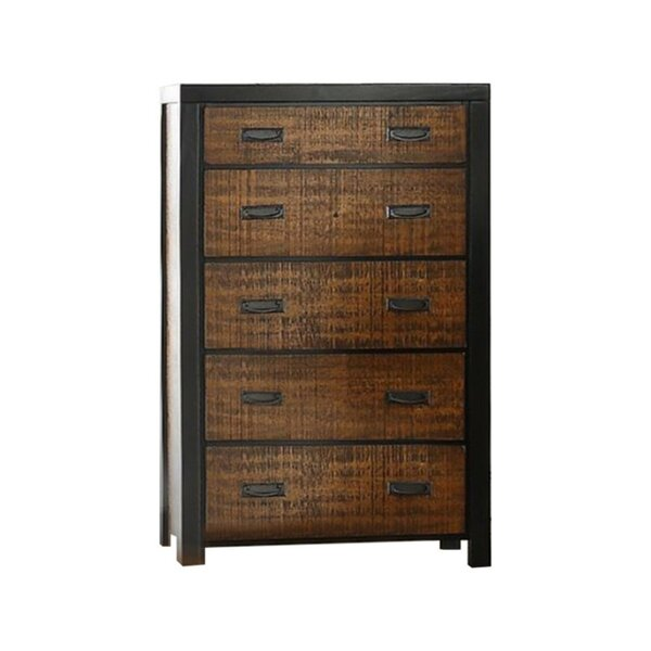 Presson 5 Drawer Standard Dresser by Union Rustic