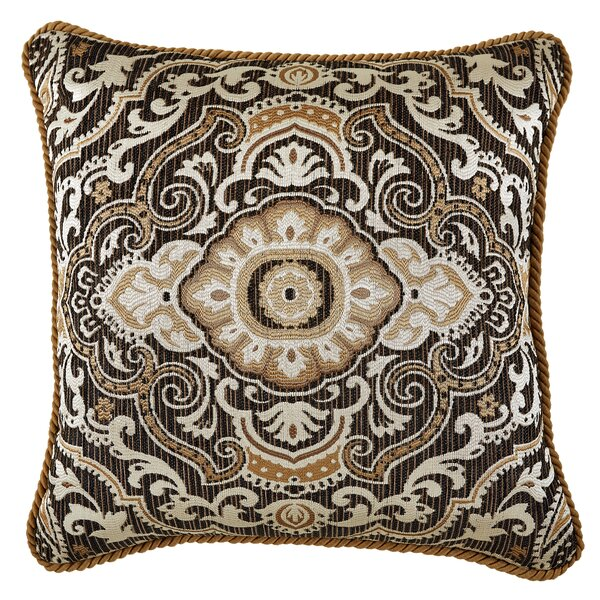 Philomena Square Throw Pillow by Croscill Home Fashions