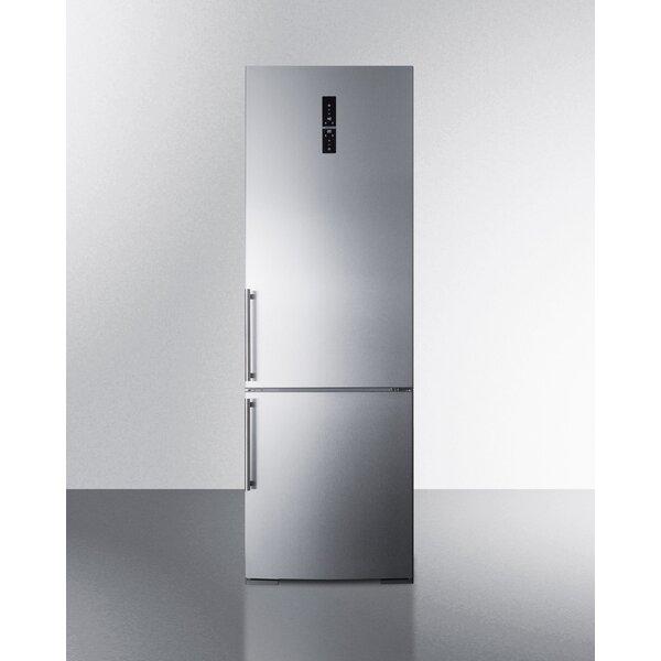 Summit Built-In 11.6 cu. ft. Counter Depth Bottom Freezer Refrigerator by Summit Appliance