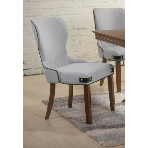 Santoyo Wingback Upholstered Dining Chair (Set of 2) by Gracie Oaks