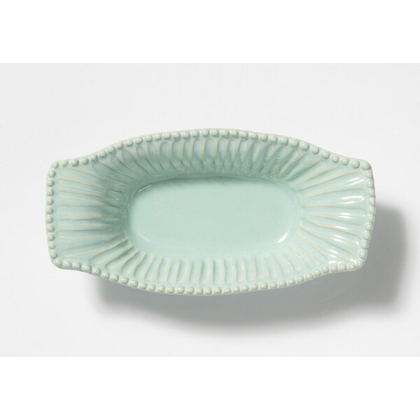 Incanto Stripe Oval Au Gratin Dish by VIETRI