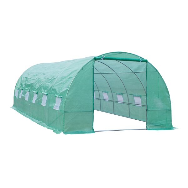 9.84 Ft. W x 26.25 Ft. D Commercial Greenhouse by Outsunny