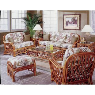 Sanders 6 Piece Conservatory Living Room Set by Bayou Breeze
