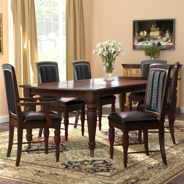 Balmers 7 Piece Dining Set by Astoria Grand