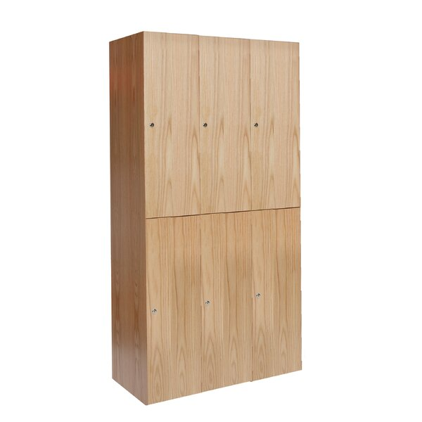 Club 2 Tier 3 Wide School Locker by Hallowell