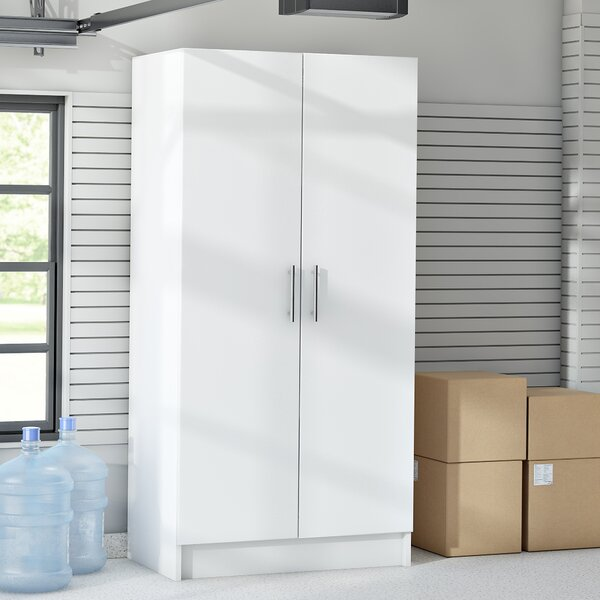 Wayfair Basics 65H x 32W x 20D Wardrobe Cabinet by Wayfair Basics™