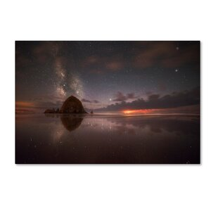 'Walking on the Star' Photographic Print on Wrapped Canvas by Trademark Fine Art
