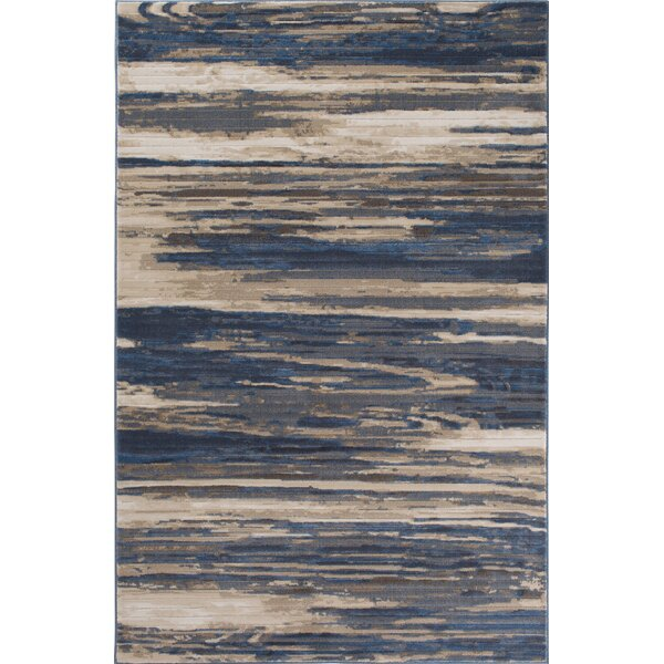 Malmberg Hamal Blue/Beige Area Rug by Union Rustic