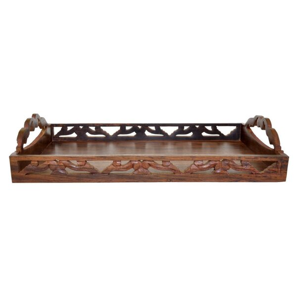 Crampton Handmade Serving Tray by World Menagerie