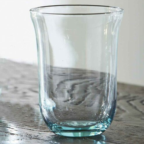 Rocky Recycled Spanish 11.8 oz. Glass Tumbler (Set of 6) by Langley Street