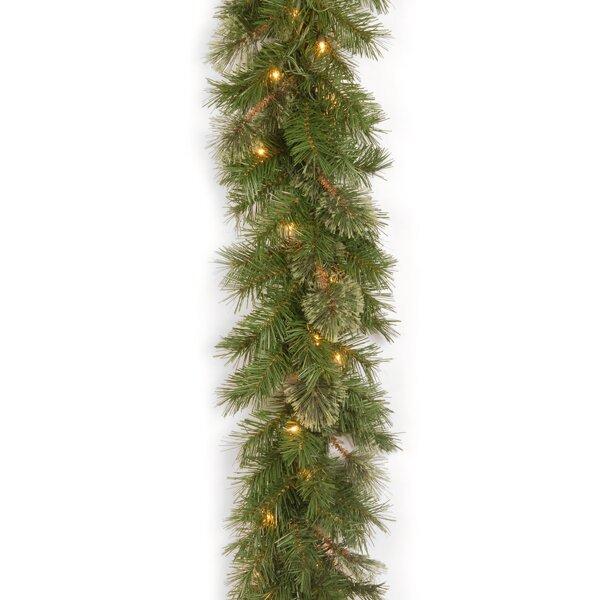Spruce Pre-Lit Garland by Lark Manor