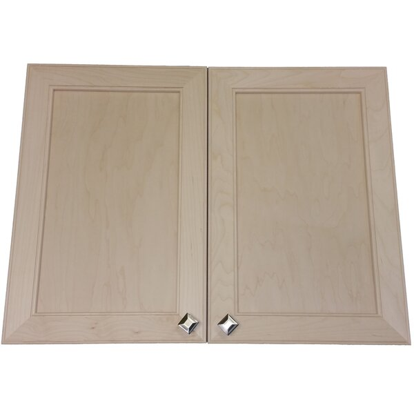 Village 31 x 25.5  Wall Mounted Cabinet by WG Wood Products