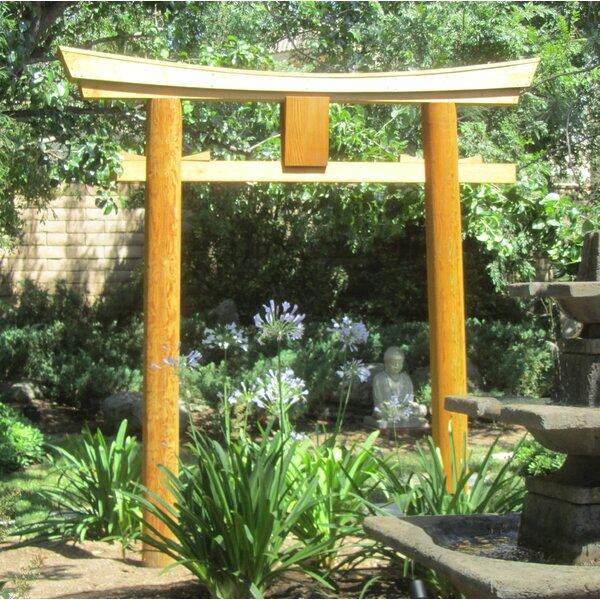 Japanese Shinto Temple Myojin Style Wooden Torii Garden Arbor by Sams Gazebos
