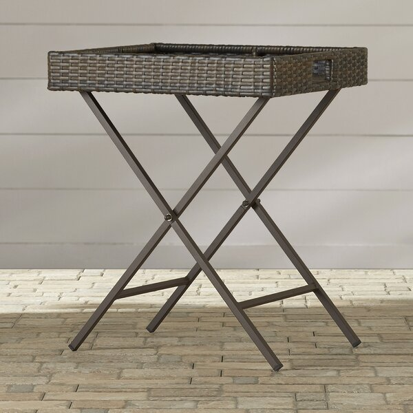 Folding Side Table by Beachcrest Home
