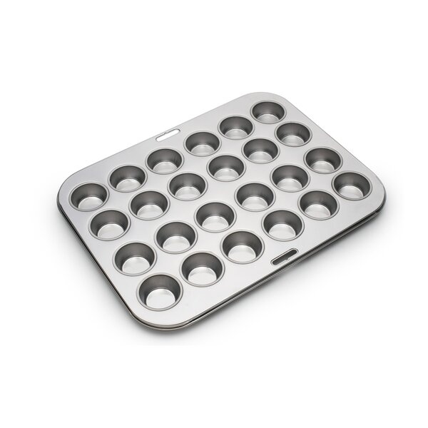 24 Cup Stainless Steel Muffin Pan by Fox Run Brands